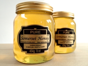 Local honey from Chris Wright